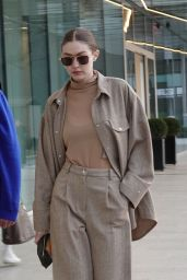 Gigi Hadid - Arriving in Milan to Attend Fashion Week 02/19/2020