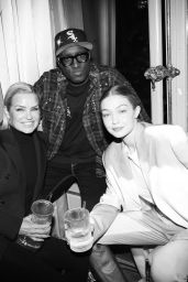 Gigi Hadid – Baccarat Crystal Clear Paris Event in Paris 02/27/2020