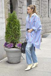 Gigi Hadid in Casual Outfit - New York City 02/05/2020