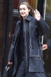 Gigi Hadid - Leaves Her Apartment in New York 02/10/2020