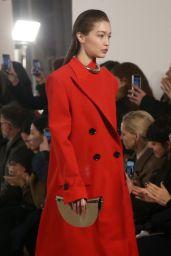 Gigi Hadid - Proenza Schouler Fashion Show in NYC 02/10/2020