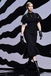 Gigi Hadid - Versace Fashion Show in Milan 02/21/2020
