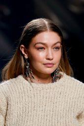 Gigi Hadid - Walks Isabel Marant Show at Paris Fashion Week 02/27/2020