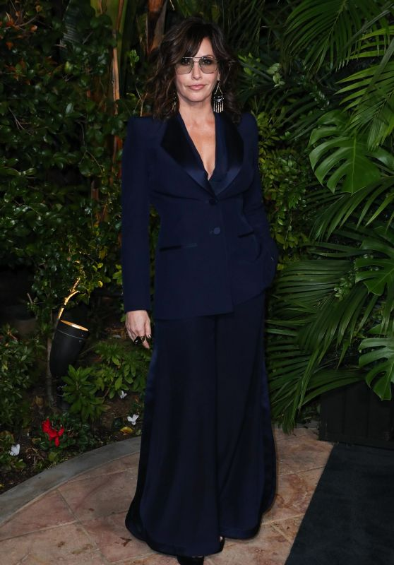 Gina Gershon – Charles Finch and Chanel Pre-Oscar Awards 2020 Dinner