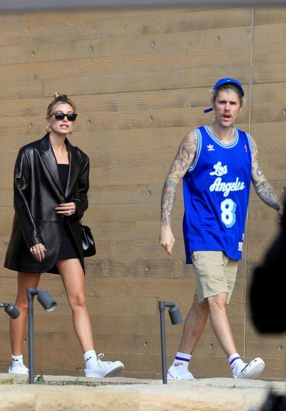 Hailey Bieber and Justin Bieber - Leaving Nobu in Malibu 02/02/2020