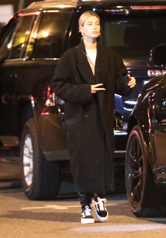 Hailey Bieber - Out in Hollywood 02/16/2020