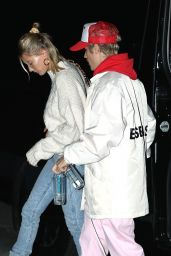 Hailey Rhode Bieber and Justin Bieber - Hillsong in Los Angeles 02/12/2020