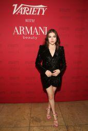 Hannah Zeile – Variety x Armani Makeup Artistry Dinner in LA