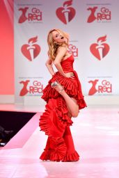 Heather Graham – Go Red For Women Red Dress Collection 2020 in NYC