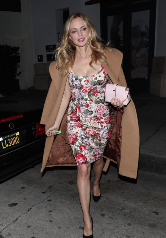 Heather Graham Night Out - Madeo in Beverly Hills 02/19/2020