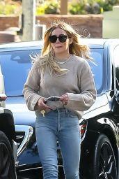 Hilary Duff Street Style - Beverly Hills 02/13/2020