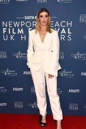Honor Swinton Byrne – Newport Beach Film Festival UK Honour in London 01/29/2020