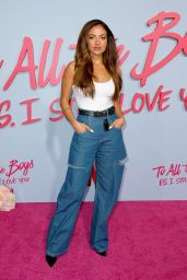 """Inanna Sarkis - """"To All The Boys: P.S. I Still Love You"""" Premiere in Hollywood"""