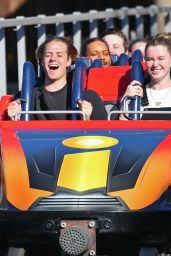 Ireland Baldwin at Disneyland 02/25/2020