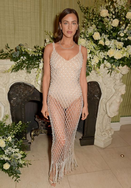 Irina Shayk – BAFTA Vogue x Tiffany Fashion and Film Afterparty in London 02/2/2020