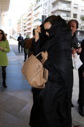 Irina Shayk - Leaving Her Hotel in Milan 02/23/2020
