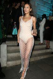 Irina Shayk - Leaving Vogue and Tiffany & Co Party in London 02/02/2020