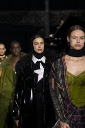 Irina Shayk - Walks Burberry Show at LFW 02/17/2020