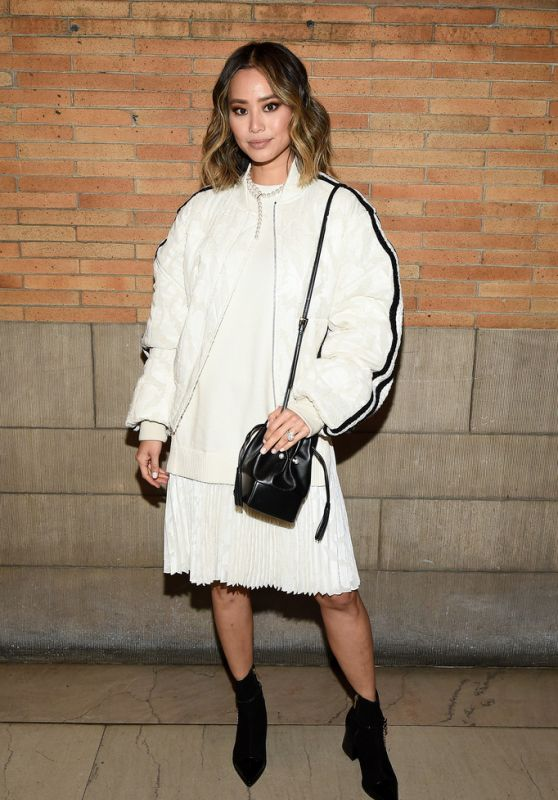 Jamie Chung - ADEAM Show at New York Fashion Week 02/10/2020