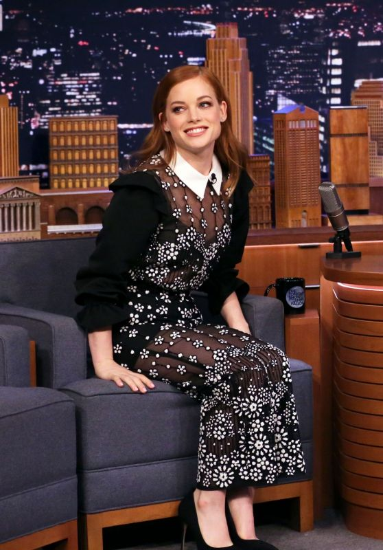 Jane Levy - Tonight Show Starring Jimmy Fallon in NYC 02/10/2020