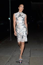 Jasmine Sanders – Arriving at the Love Magazine Party in London 02/17/2020