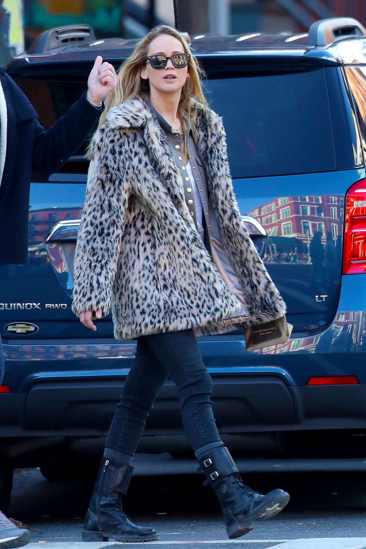 Jennifer Lawrence - Out in NYC 02/25/2020
