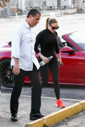Jennifer Lopez - Arrives at the Gym in Miami Beach 02/23/2020