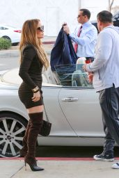 Jennifer Lopez - Arriving for a Business Meeting in Beverly Hills 02/18/2020