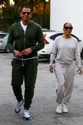 Jennifer Lopez in Casual Outfit - Miami 02/23/2020