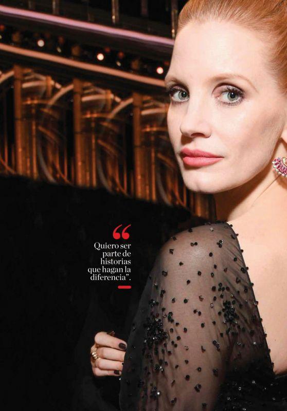 Jessica Chastain - Vanidades México 02/29/2020 Issue