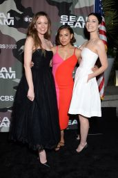 """Jessica Pare - """"SEAL Team"""" TV Show Premiere in LA"""
