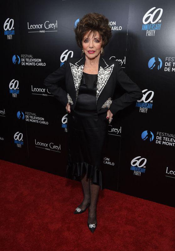 Joan Collins – Monte-Carlo Television Festival Gala Reception in Los Angeles 02/05/2020