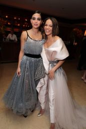 Julia Harnett and Leslie Grace – Warner Bros Oscar Party 2020