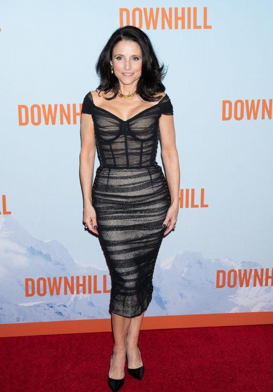 """Julia Louis-Dreyfus – """"Downhill"""" Premiere in New York"""