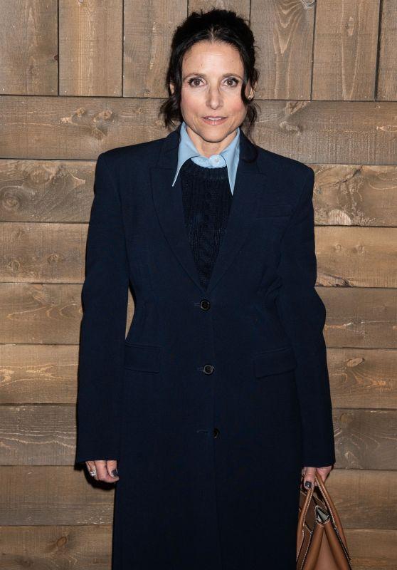 Julia Louis-Dreyfus – Michael Kors Fashion Show in NY 02/12/2020