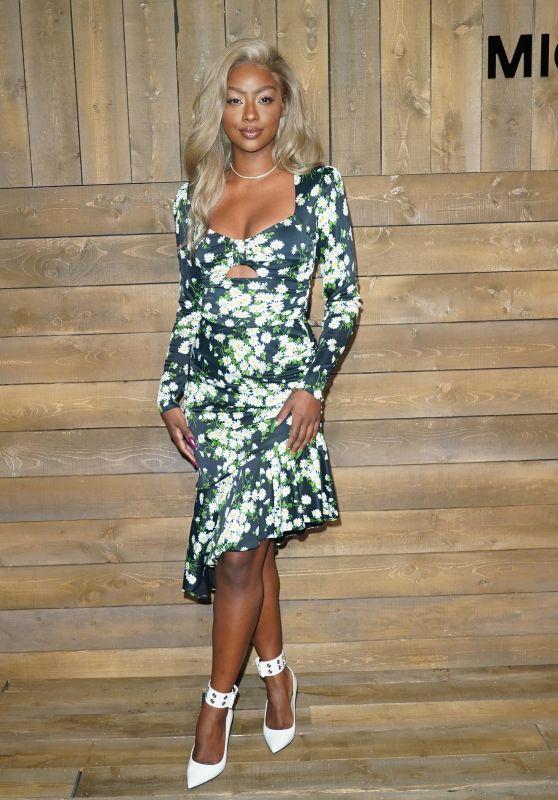 Justine Skye – Michael Kors Fashion Show in NY 02/12/2020