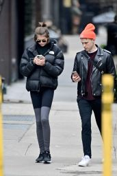 Kaia Gerber and Tommy Dorfman - Out in NYC 02/05/2020