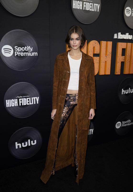 "Kaia Gerber - ""High Fidelity"" Premiere in New York 02/13/2020"