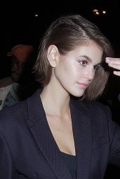 Kaia Gerber - LFW LOVE Magazine Party in London 02/17/2020