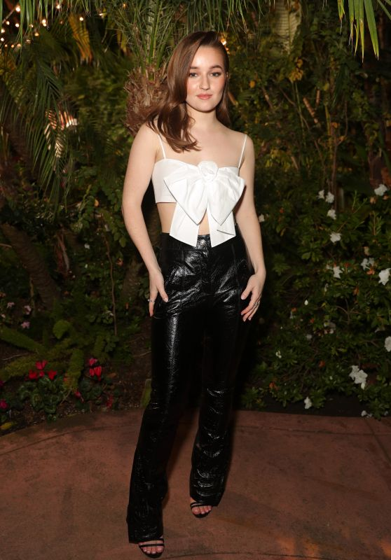 Kaitlyn Dever – Charles Finch and Chanel Pre-Oscar Awards 2020 Dinner