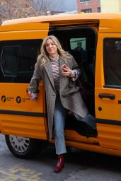 """Kaley Cuoco - """"The Flight Attendant"""" Set in NYC 02/24/2020"""
