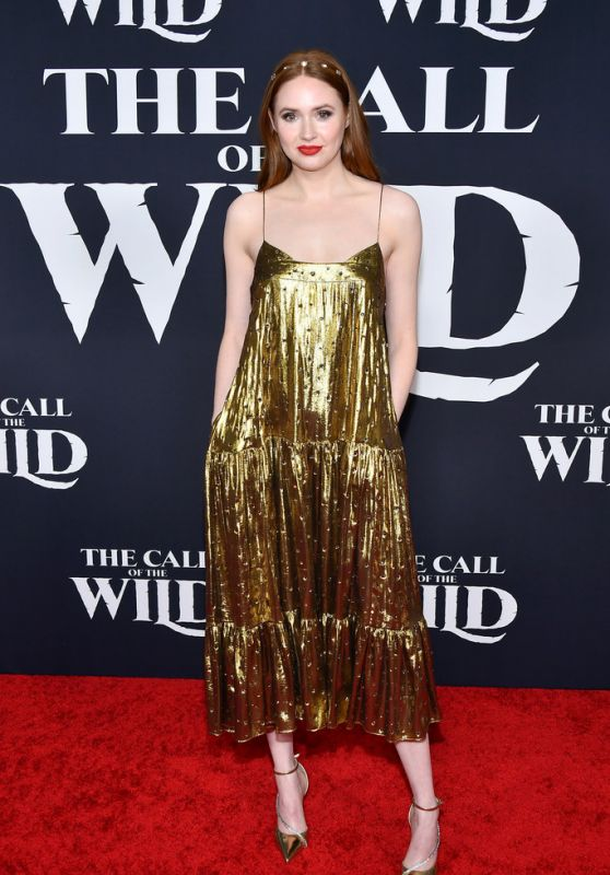"Karen Gillan - ""The Call Of The Wild"" Premiere in LA"