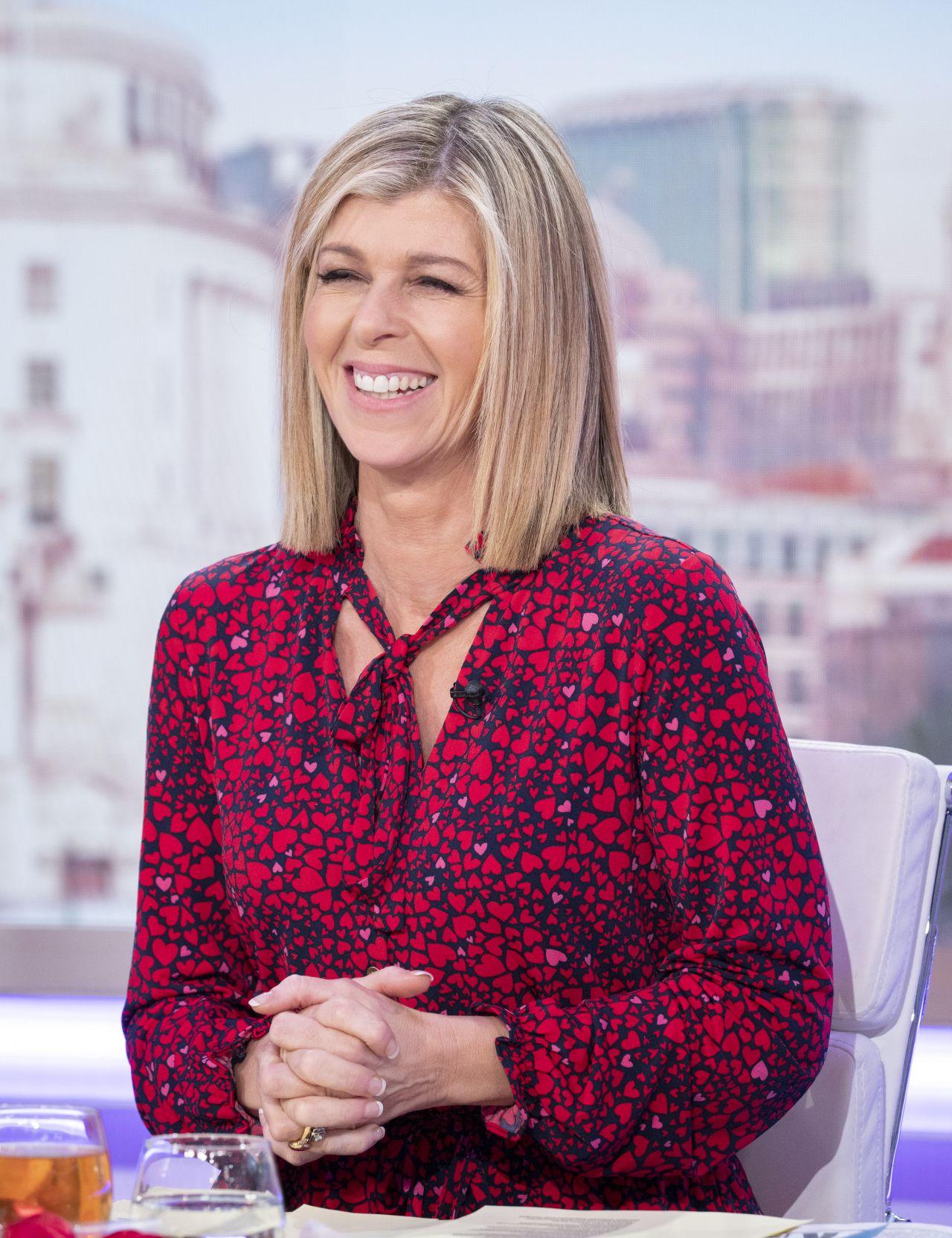 Kate Garraway returns to Good Morning Britain in beautiful