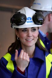 Kate Middleton, Duchess of Cambridge - Tata Steel in Port Talbot 02/04/2020