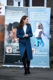 Kate Middleton - LEYF Stockwell Gardens Nursery & Pre-School in London 01/29/2020