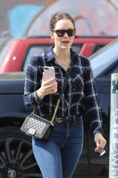 Katharine McPhee - Out in West Hollywood 02/19/2020