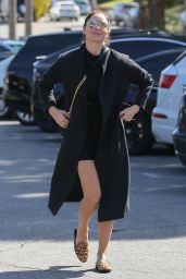 Katharine McPhee  Shows Off Her Legs - Out for Lunch in Brentwood 02/13/2020