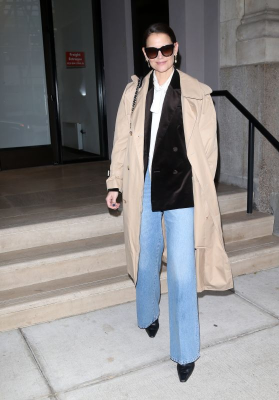 Katie Holmes - Out in New York 02/10/2020