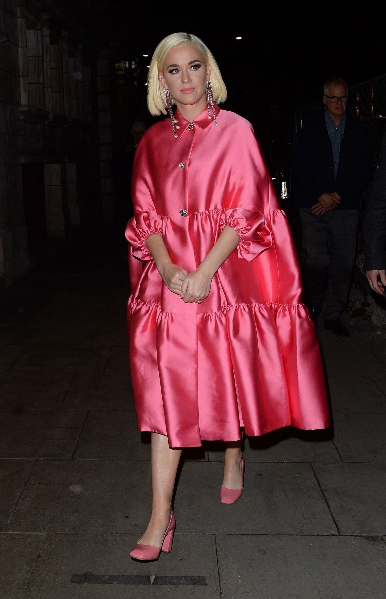 Katy Perry Style - Arriving at the Juliet Musical in London 02/03/2020