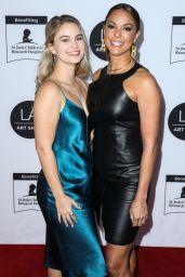 Kaya McKenna Callahan and Eva LaRue  – Los Angeles Art Show 2020 Opening Night Gala